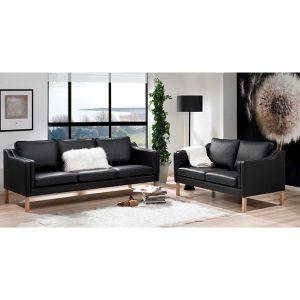 Clausholm 2 + 3 pers. sofasæt
