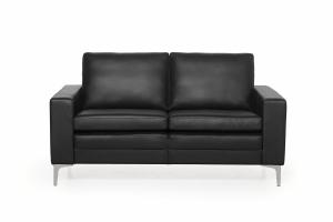 SOFA.dk - Copenhagen   2-personers Sofa (læder) - Sort