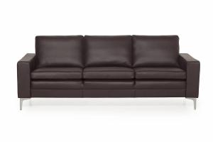 SOFA.dk - Copenhagen   3-personers Sofa (læder) - Sort