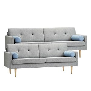 Stouby Jive sofa 2+3 pers. med MainLine stof