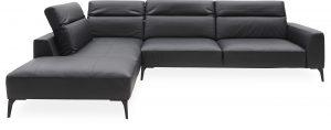 Volanti Sofa med pufafslutning