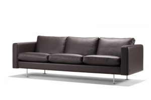 Wegner Century 3-personers lædersofa