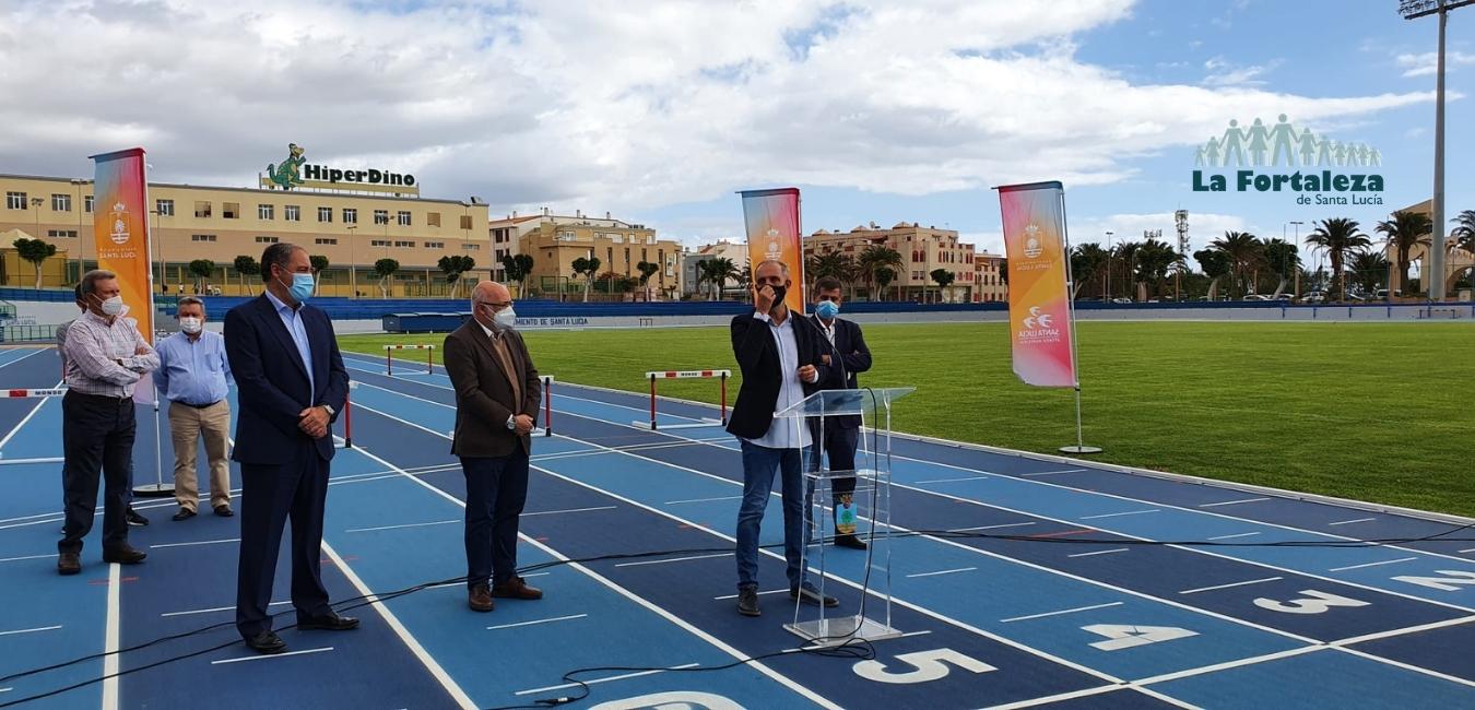 estadio municipal de atletismo de Santa lucía de Tirajana
