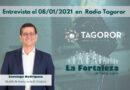 Entrevista a Don Santiago Rodríguez el 08/01/2021 en Radio Tagoror