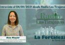 Entrevista en Radio Las Tirajanas el 04/01/2021 a Doña Ana Mayor Concejala de Juventud, Turismo, Transparencia y Litoral de Santa Lucía de Tirajana.