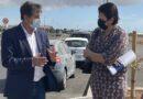 Visita de trabajo de la Consejera de Industria, Comercio y Artesanía del Cabildo Insular de Gran Canaria, Dña. Minerva Alonso Santana, al Municipio de Santa Lucía de Tirajana.