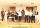 Asistimos al homenaje de Lolita , Máma Conchita, dora y Olguita trabajadoras de molinos de gofio del municipio.