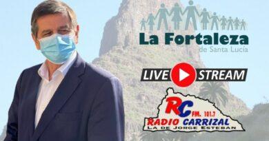 Entrevista el 21-10-2021 a las 10:00 en radio Tagoror, Santiago Rodríguez 1º Teniente Alcalde de Santa Lucía de Tirajana.