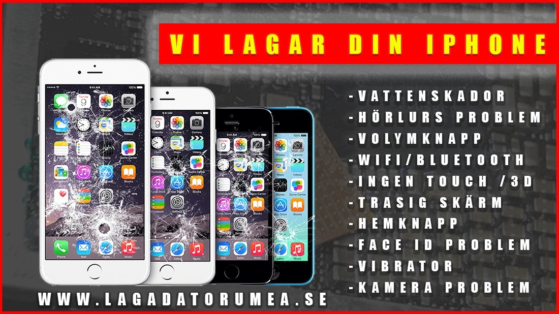 Iphonereparation umeå
