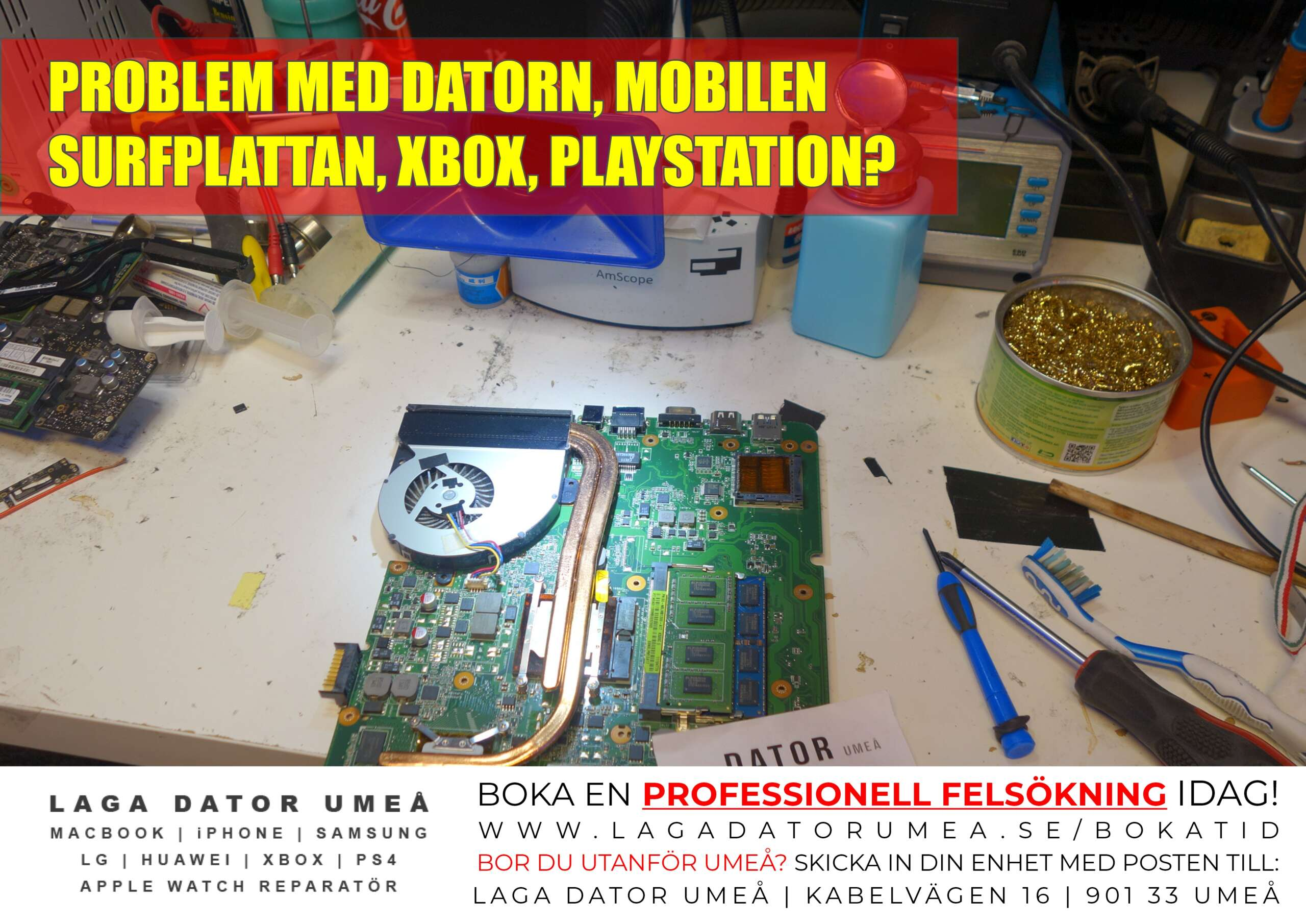 Laptop Repair sverige