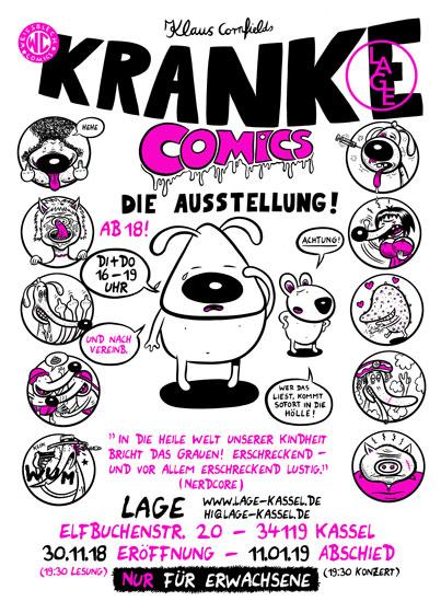 KRANKE COMICS - Klaus Cornfield