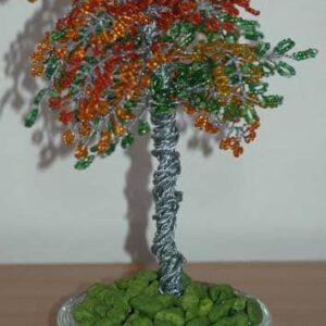 Träd prydnader