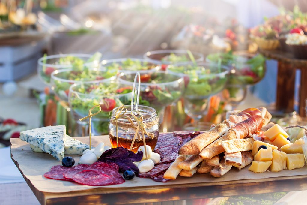 Food catering dish service