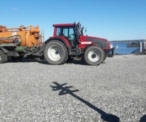 Slamsugning på Skarø