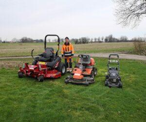 Græsslåning alle maskiner