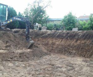 Udgravning til kælder