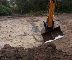 Udgravning til sø