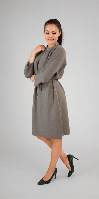 Fabiana Filippi brown wool dress