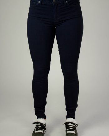 7 FOR ALL MANKIND Dark blue high waist skinny jeans
