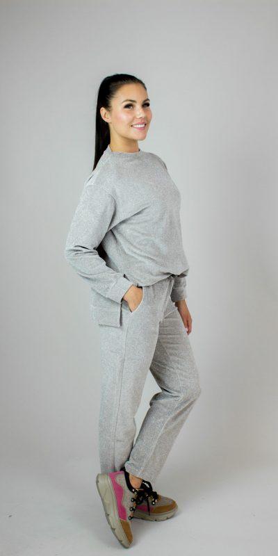 9.Seventy, grey leisurewear