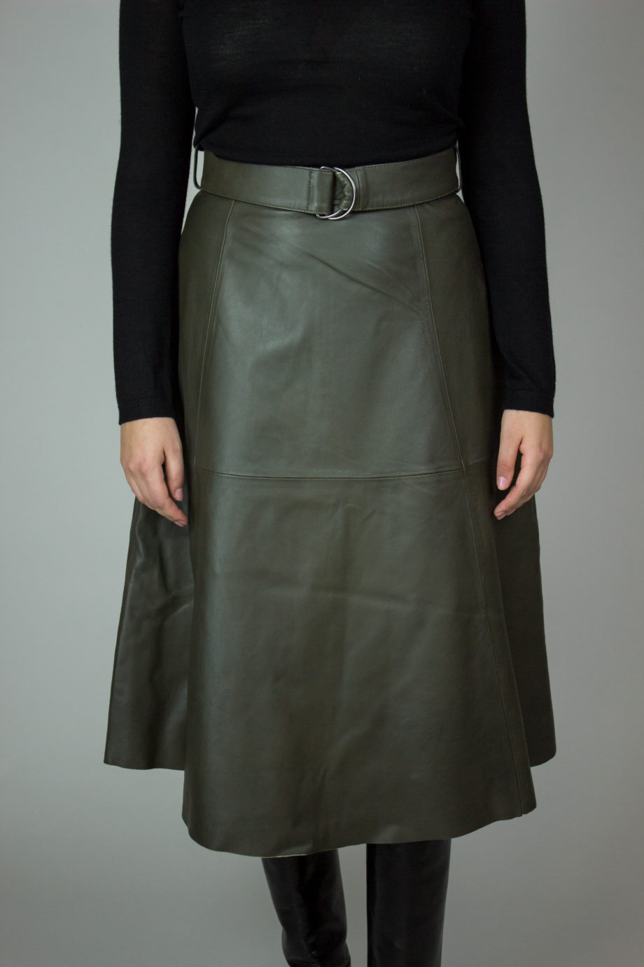 FRENCH CONNECTION Leather skirt
