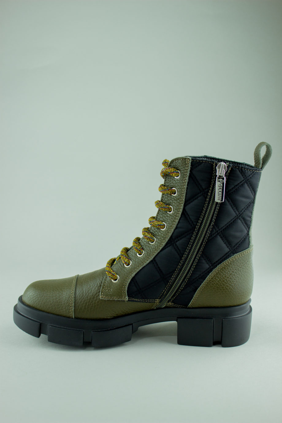 POLLINI military boots