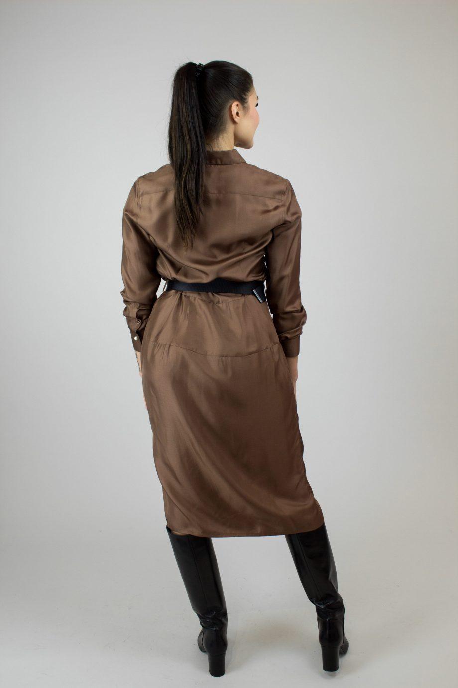 ELISE GUG Twill Dress