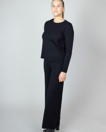 Allude wool trousers