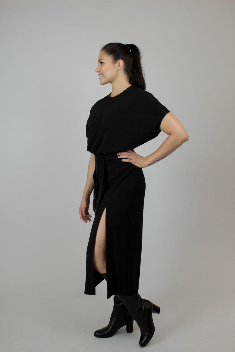 RED VALENTINO black dress