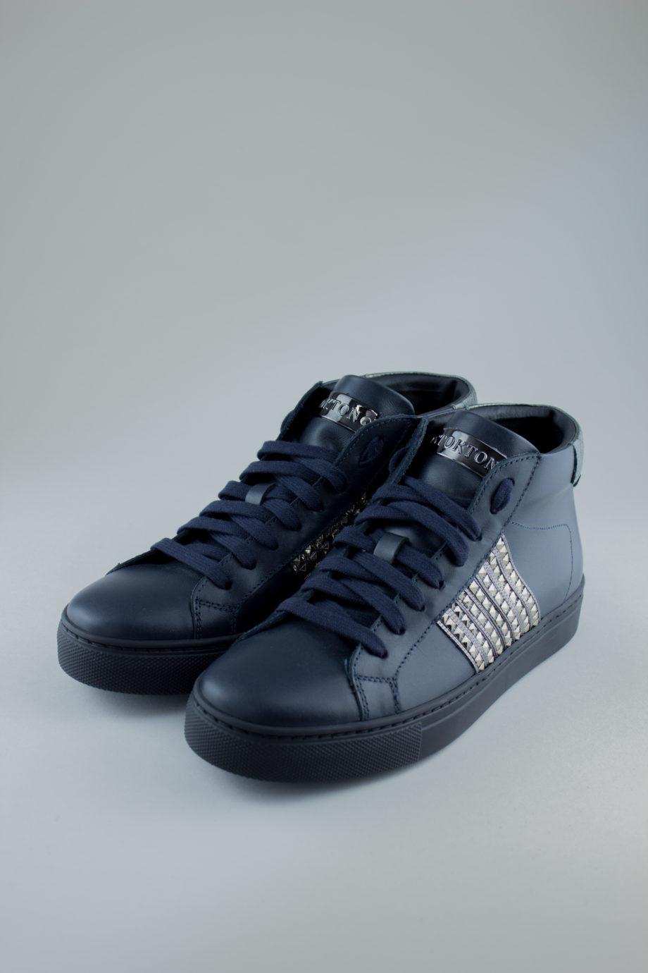 STOKTON Navy Sneakers