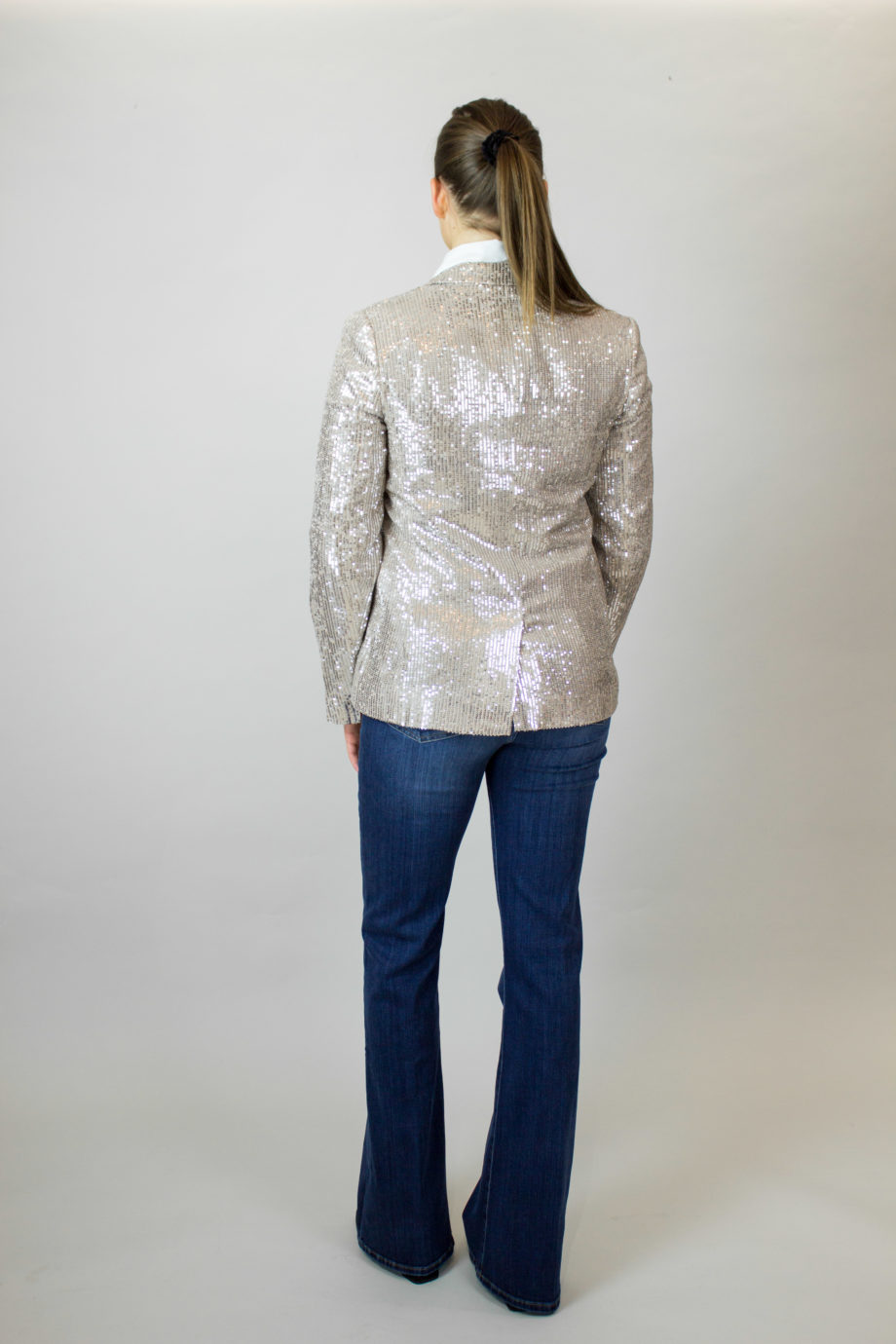 FRENCH CONNECTION Glitter blazer