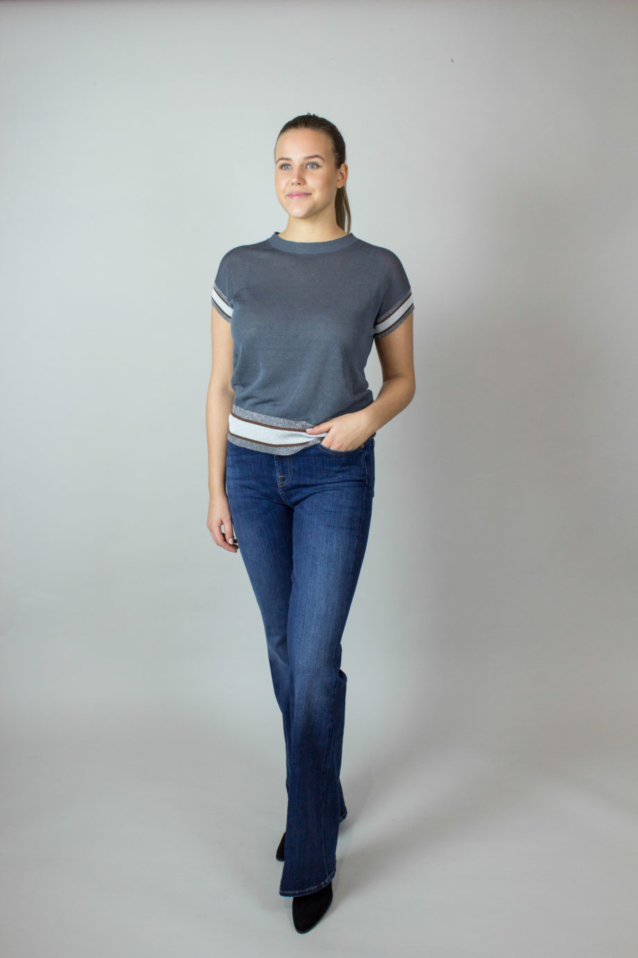 FABIANA FILIPPI Grey T-shirt