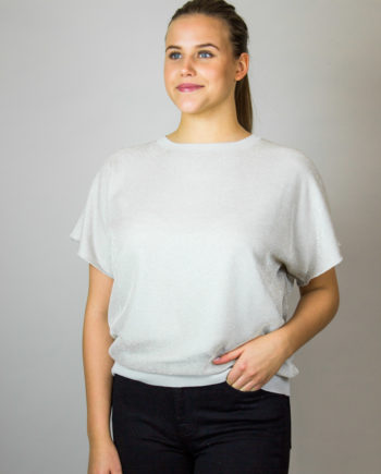 FABIANA FILIPPI Glitter T-shirt
