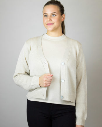 FTC Oatmeal cardigan