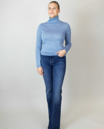 FTC Blue Shadow polo sweater