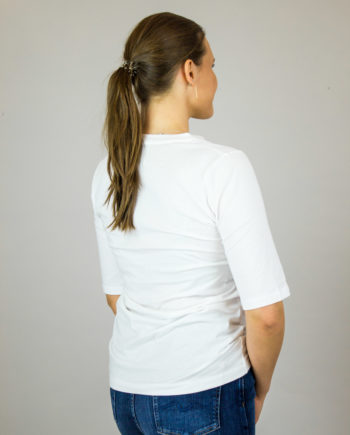 ALLUDE White t-shirt