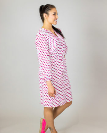 16. HEMISPHERE Rosa print dress