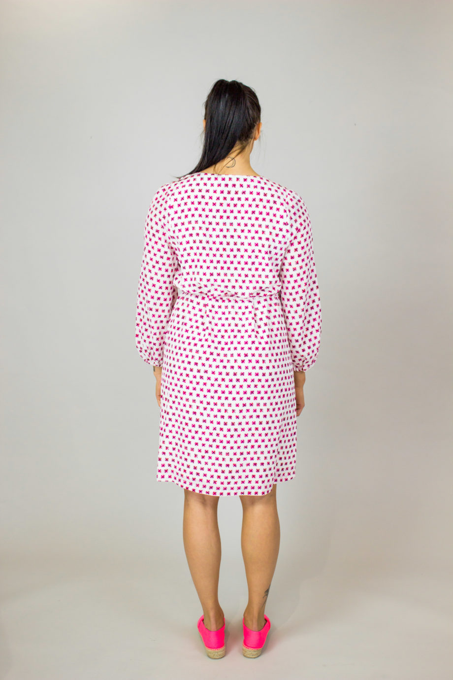 16. HEMISPHERE Rosa print dress