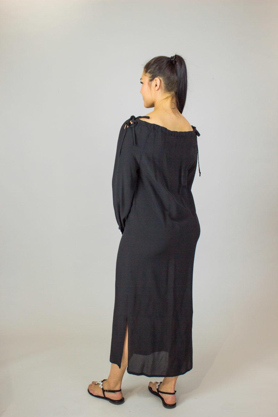 ELISE GUG Shoulder bow dress