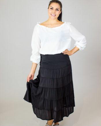 ELISE GUG Ruffle skirt