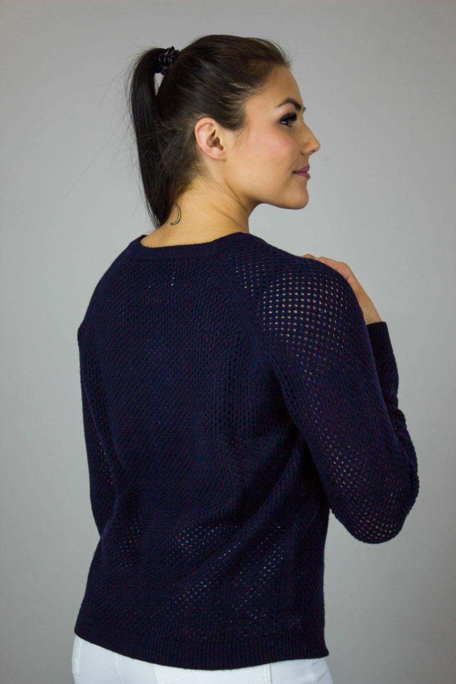 Allude dark blue sweater