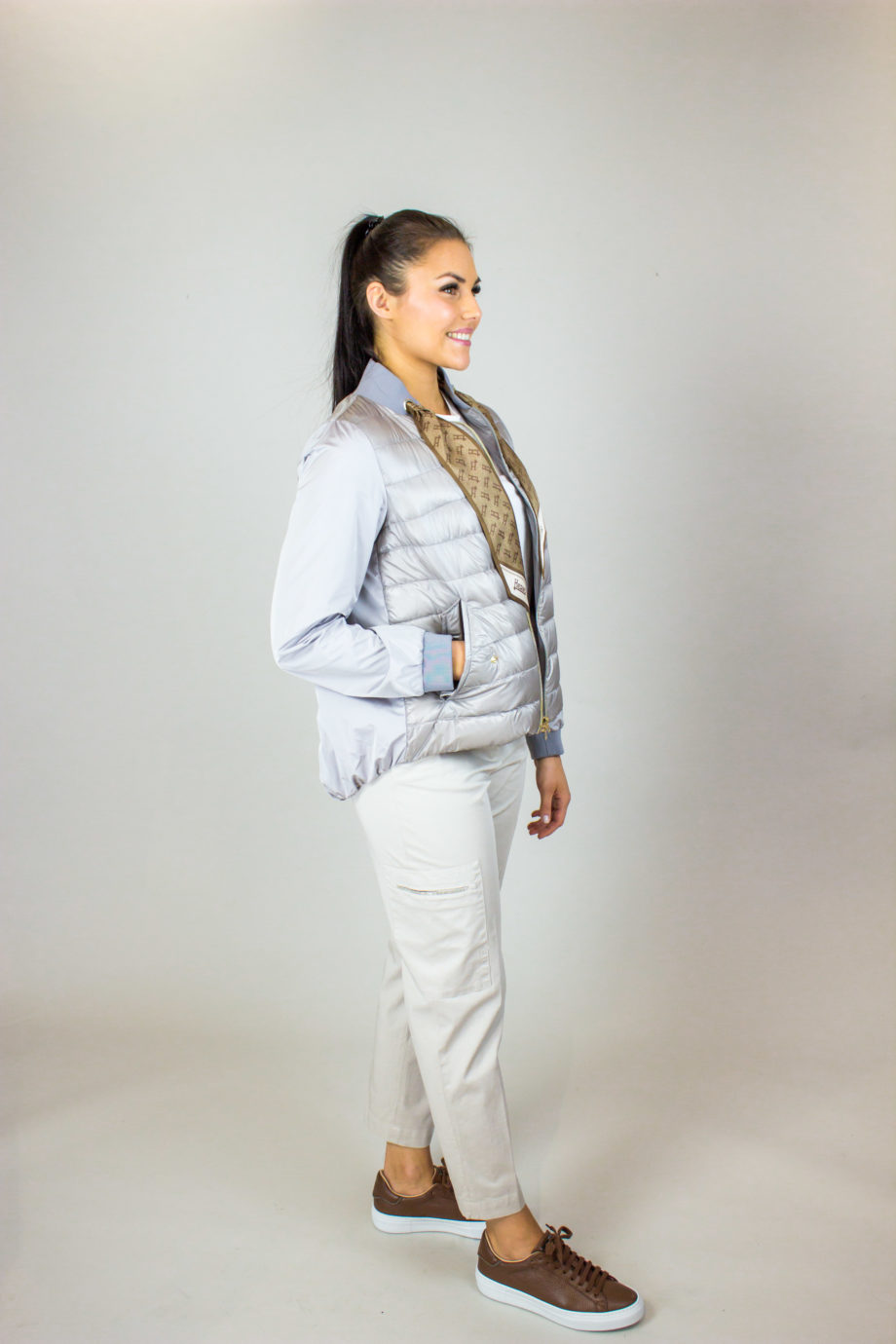 HERNO Taupe jacket