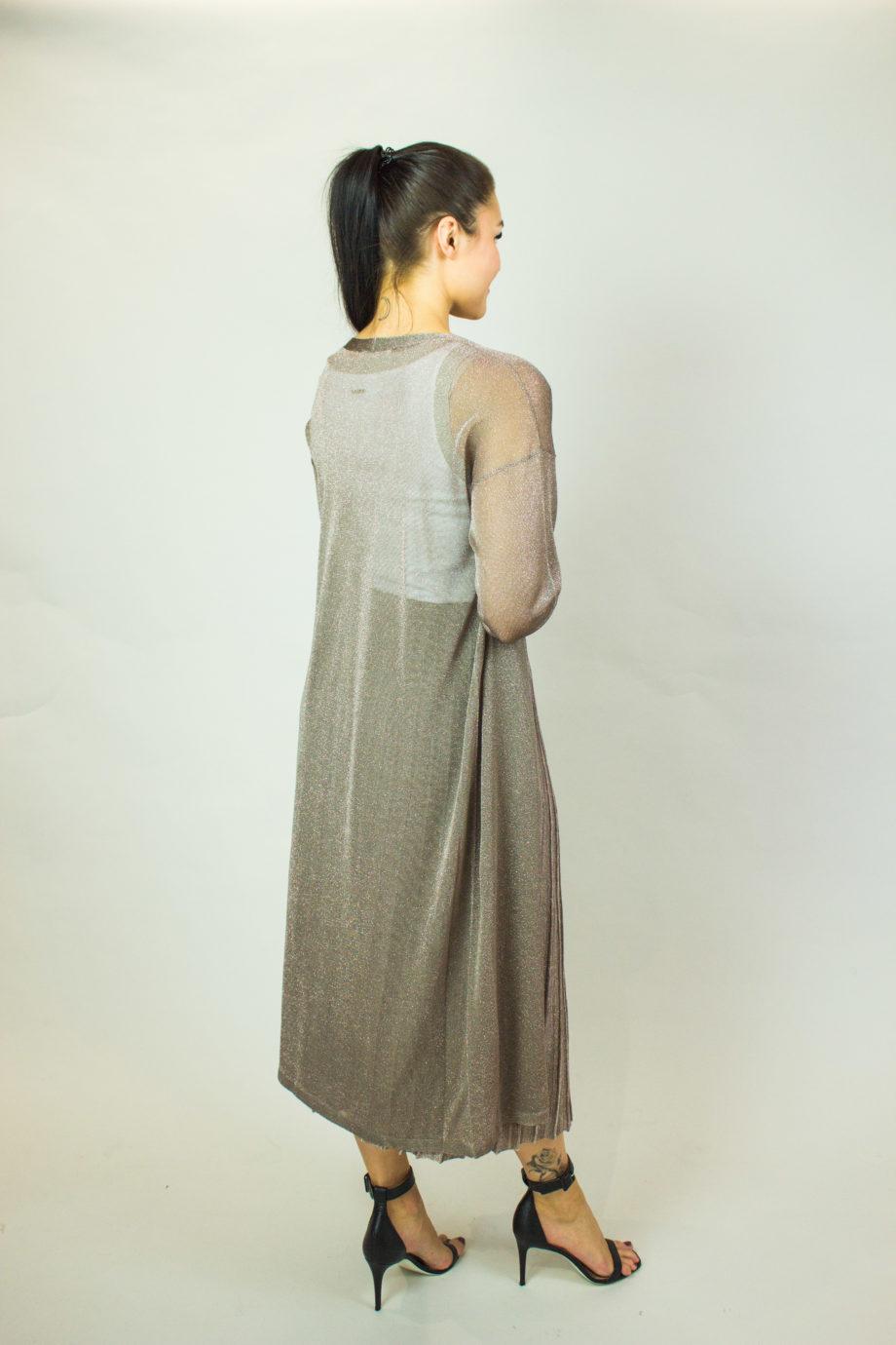 FABIANA FILIPPI Long glitter cardigan