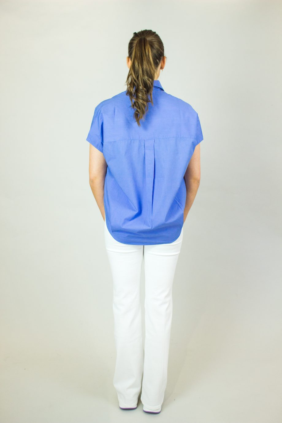 FRENCH CONNECTION Bay Blue shirt