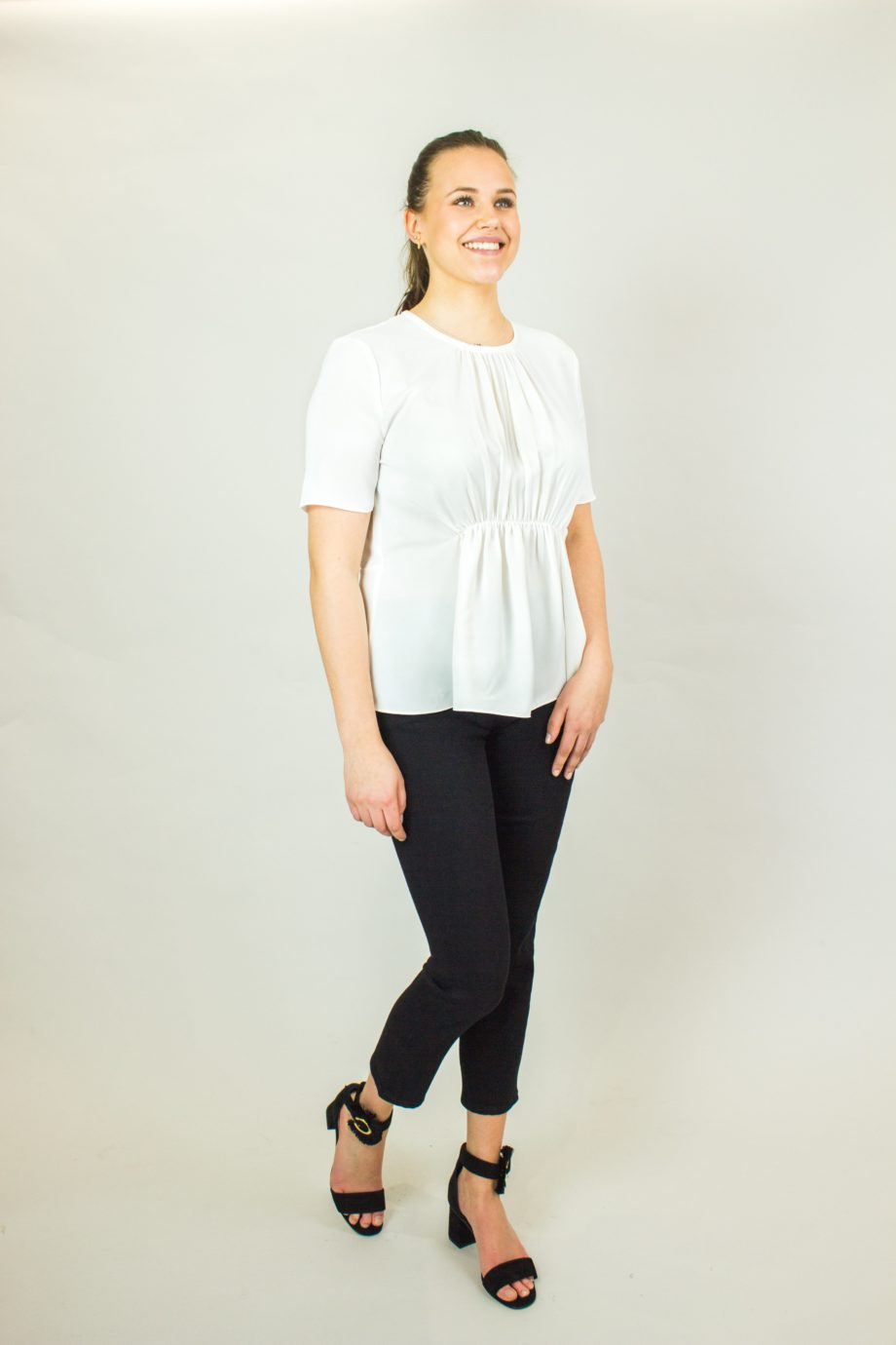 13. FRENCH CONNECTION White blouse