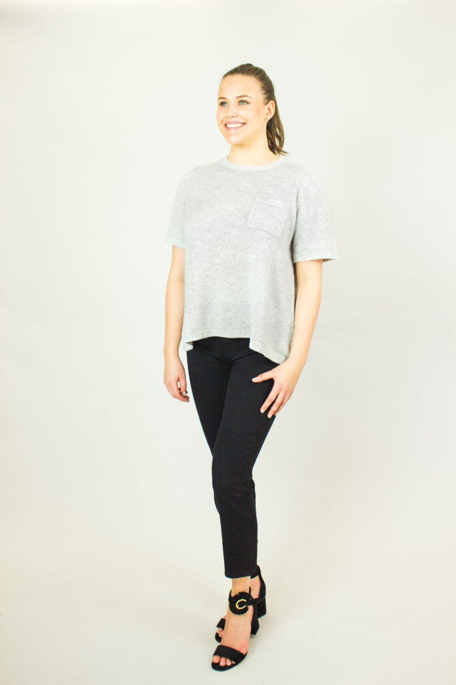 26. FTC Grey sweater