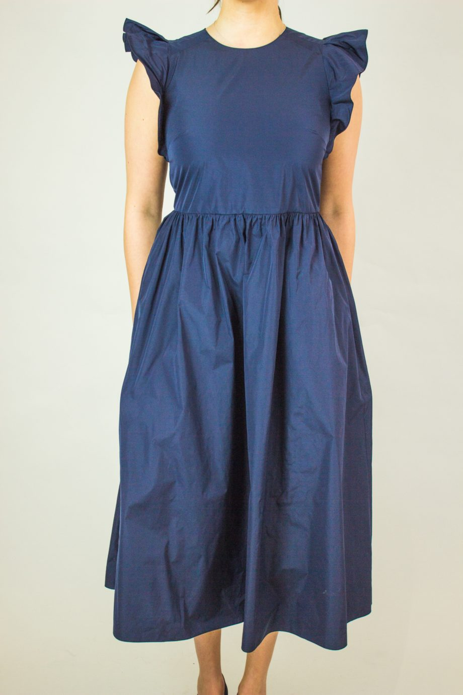 RED VALENTINO Dark blue dress