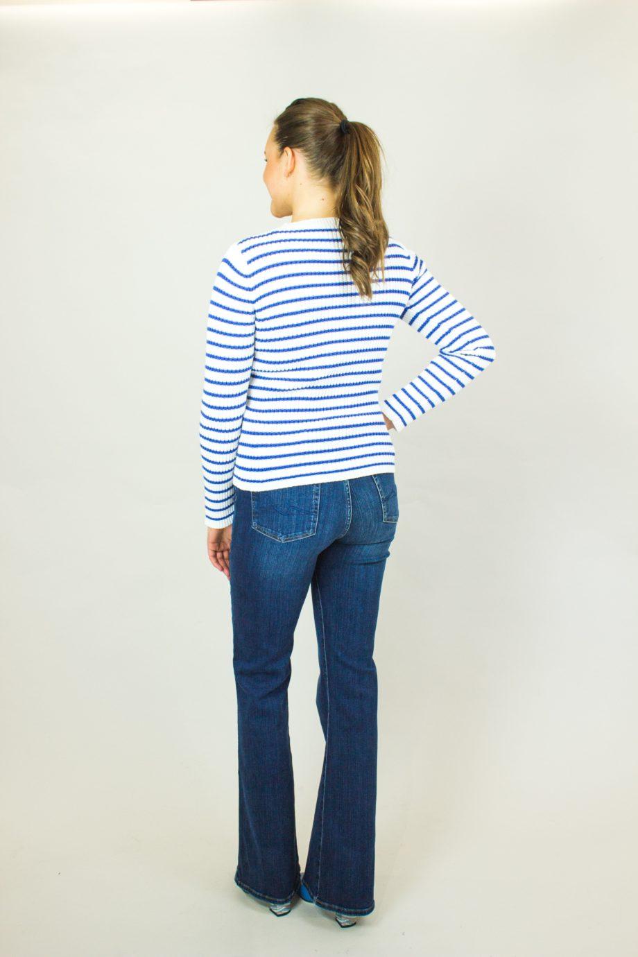 RED VALENTINO Stripe sweater