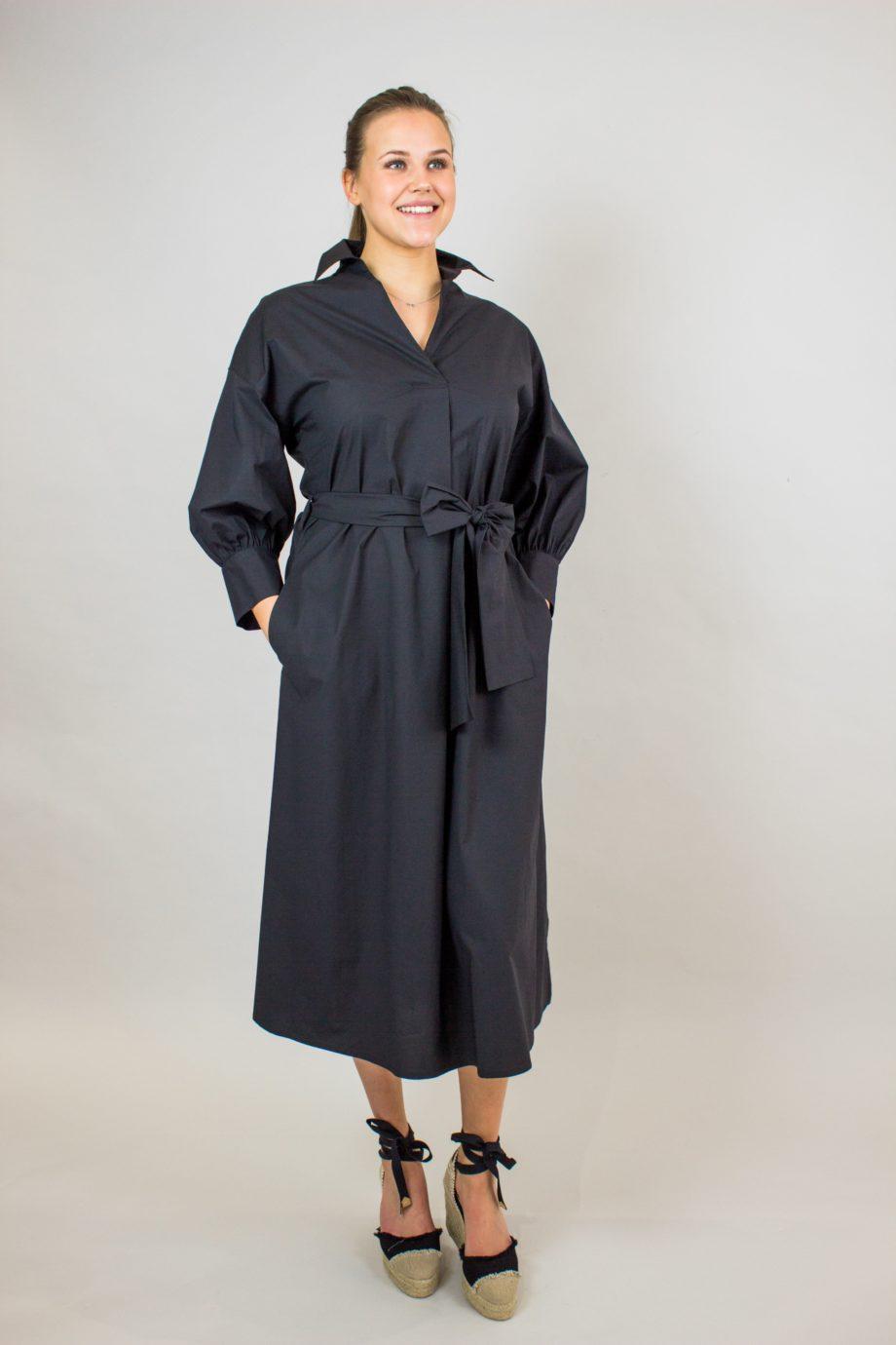 SEVENTY Black cotton dress