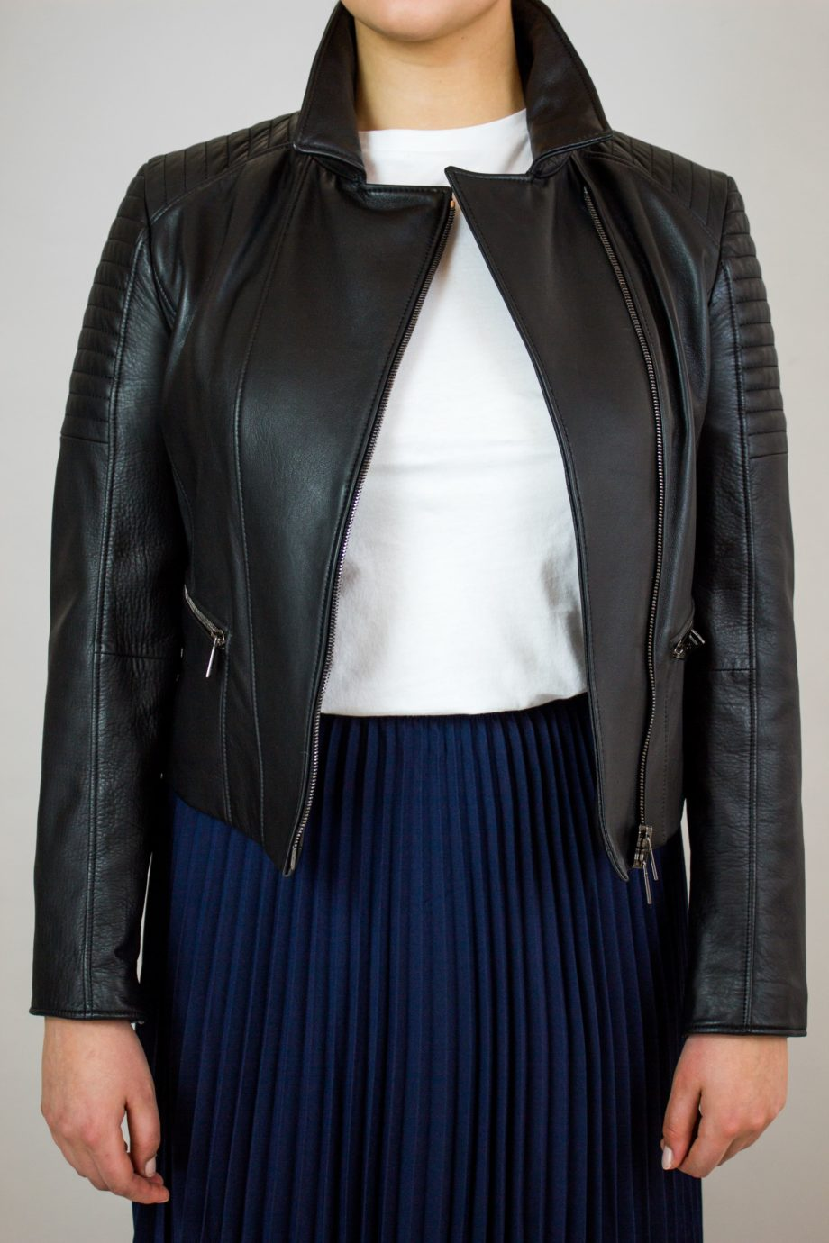 WERNER CHRIST Black biker jacket